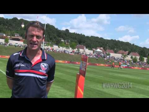 WRWC 2014 - USA Women's Eagles vs Kazakhstan: Half-Time Report
