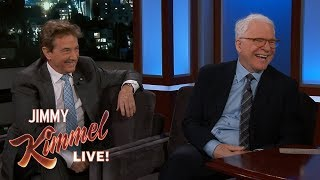 download musica Steve Martin & Martin Short Bailed on Jimmy Kimmels Party