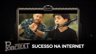 Bruno explica como o filho virou fenômeno na internet