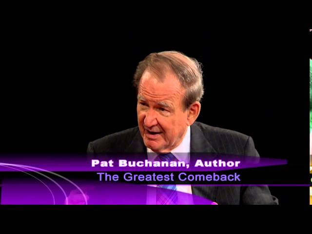 Pat Buchanan Book Interview on Nixon: The Greatest Comeback