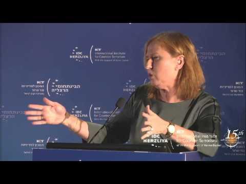 MK Tzipi Livni (EN) | ICT's 15th International Conference