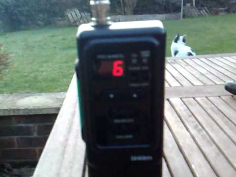 CB Radio: Stateside Very Strong To The Uniden Hand-Held