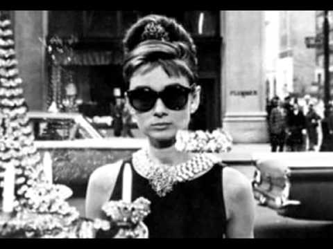 Moon river- Audrey Hepburn with lyrics Music Videos