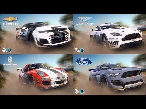 DiRT Rally 2.0 - All Cars   List (PC HD) [1080p60FPS]