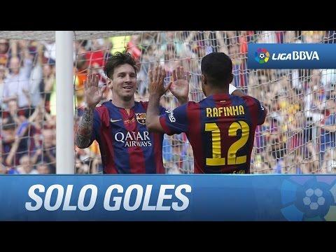CUMBIA ACTUAL - TODOS LOS GOLES DE FC BARCELONA (2-2) DEPORTIVO DE LA CORUÑA