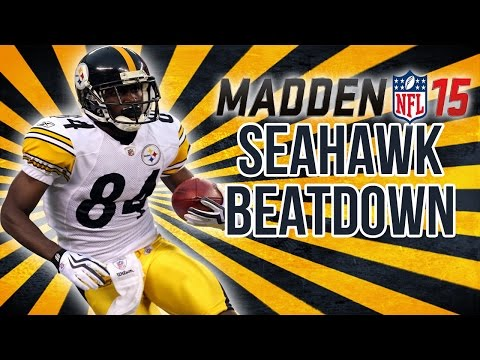 Football-nfl-madden 15 :: Seahawk Beatdown :: Steelers Vs. Seahawks - Online Gameplay Xboxone video