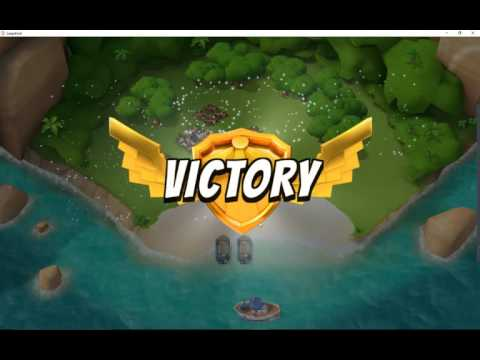 Playing Boom Beach on LeapDroid // The most powerful Android emulator for PC