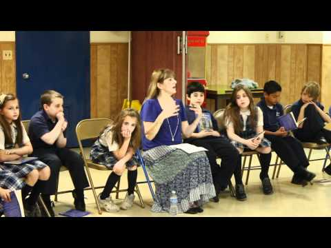 Author Susan Wigden's Book Club at Blessed Sacrament School in Staten Island:5-2011 (Partial Video)