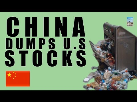 WARNING: China Sold 38% of U.S. Stocks! Deficit 7 Year High!