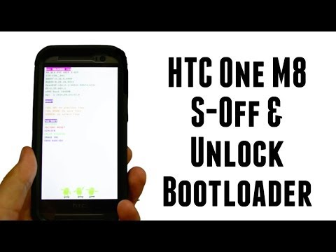 How to - S-Off and Unlock bootloader HTC One M8 Verizon