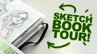 THE GOOD AND THE BAD?! | Peek Inside My Sketchbook! | Sketchbook 20 Tour