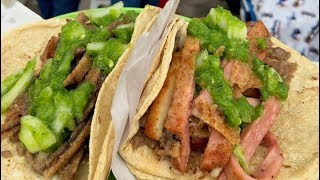 Breaded Meat Tacos and Green Salsa !!! | Mexican Street Food | Southern Part of Mexico City