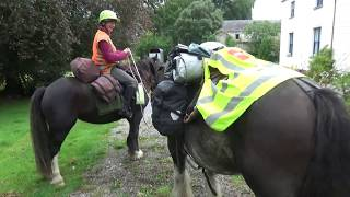 One Woman, Two Horses, Four Days Riding Solo Through The Irish Midlands