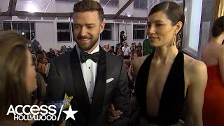 Justin Timberlake Reacts To Jessica Biel