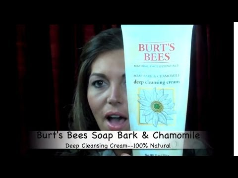 Review: BURT'S BEES SOAP BARK & CHAMOMILE DEEP CLEANSING CREAM