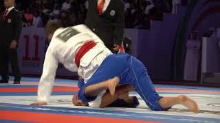 Tainan Dalpra vs  Reda Hamzaoui at the 2019 UAEJJF World Pro