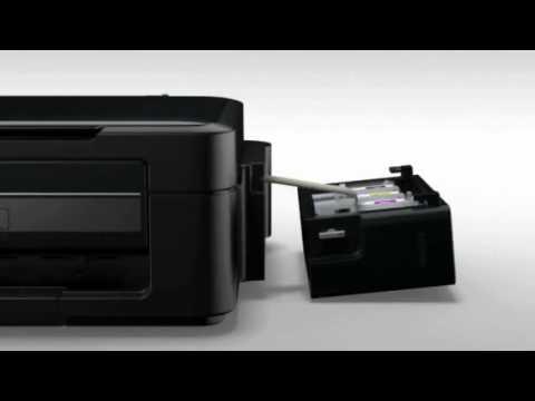 Epson   Instalación del Sistema de Tanque de Tinta