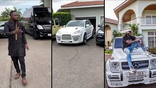 {Video}Funny Face got a Customized Porsche Car from Adebayor & everything you need to know about it.