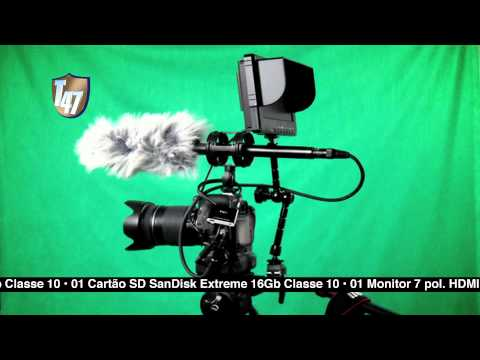 Kit DSLR Canon T3i 600D (2012)