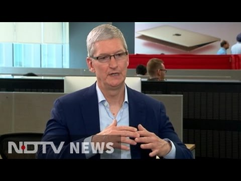 Tim Cook to NDTV on selling used iPhones in India