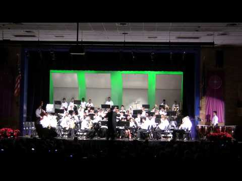 Xaverian High School's Select Band - A Christmas Festival by Leroy Anderson