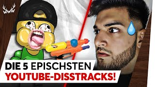 Die 5 EPISCHSTEN YouTube-Disstracks! | TOP 5