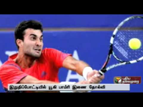 Yuki Bhambri ends runner-up with Ebden in Aptos Challenger
