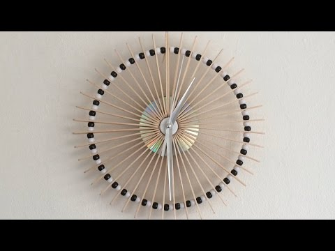 How To Make A Lolly Stick Clock! video