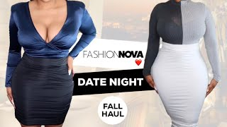 FASHION NOVA CURVE CUTE DATE NIGHT TRY ON HAUL | UK 2019