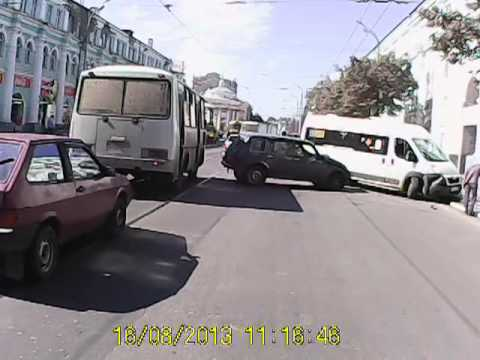 ДТП 16.08.2013. г. Орел, ул.Гостинная