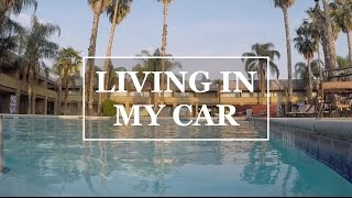 LIVING IN MY CAR - DAY 9 - CHEAT DAY