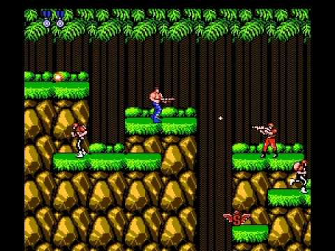 Contra - Contra (NES) - Vizzed.com Play - User video