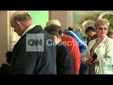 UKRAINE:REFERENDUM VOTING IN DONETSK