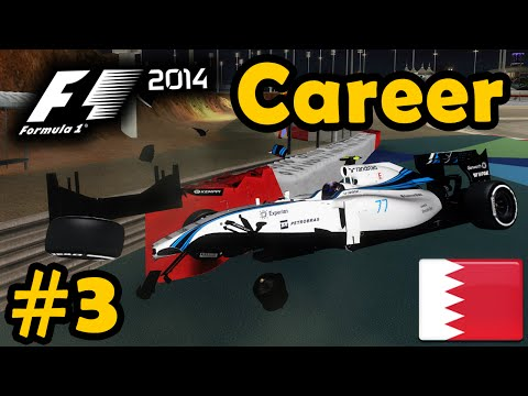 F1 2014 Career Mode Part 3: Bahrain Grand Prix (Legend AI)