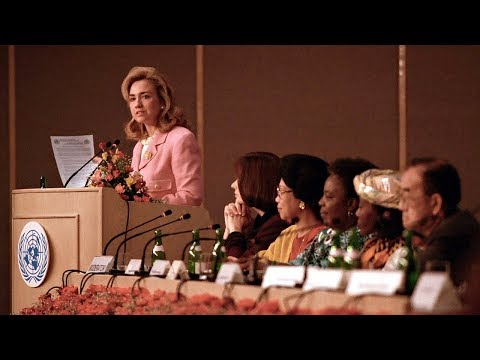 hillary rodham clinton s remarks to the u n 4th world conference on women plenary session [575749] - the future of women s rights the future of women s rights hillary rodham clinton remarks to the un 4th world conference on women plenary session delivered 5 september 1995 beijing china womens rights in.