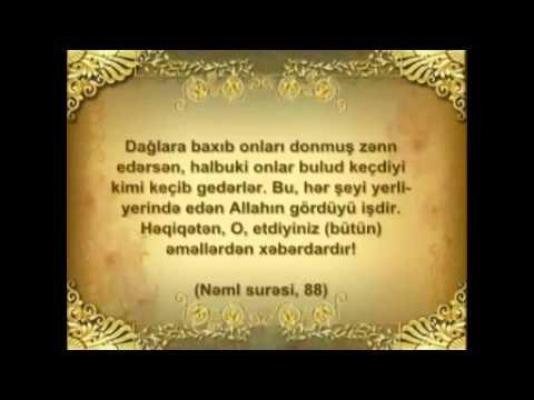 Quran Mocuzeleri IV bolum 1 Hisse Yer kuresinin firlanma istiqameti