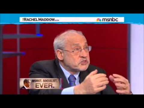 Joseph Stiglitz: High Unemployment Equals High Corporate Profits