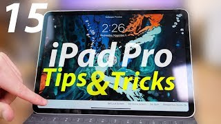 2018 iPad Pro: 15 Tips & Tricks!