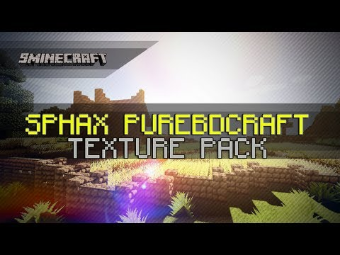 Sphax PureBDCraft Texture Pack for Minecraft 1.6.2/1.6.1/1.5.2