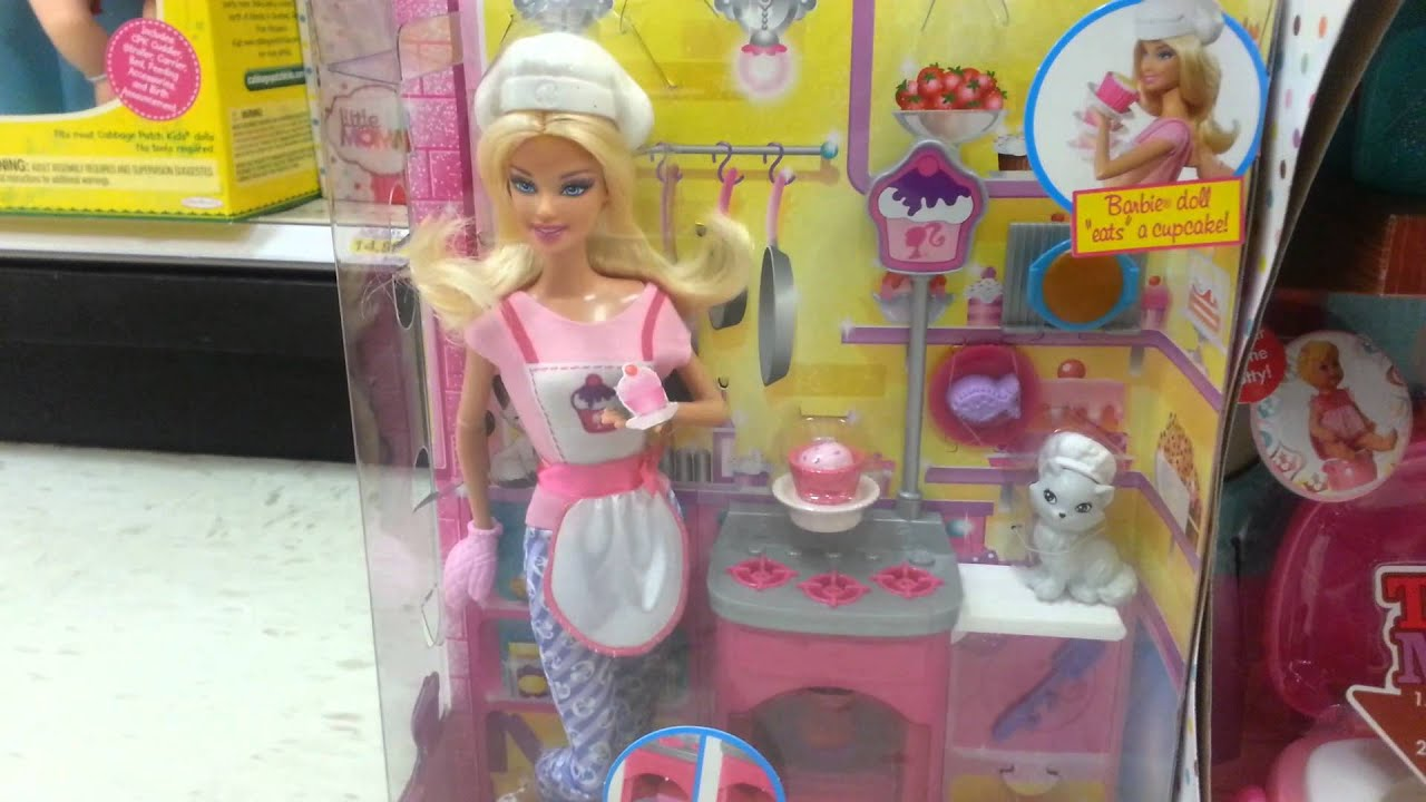 Barbie Kitchen Set Target