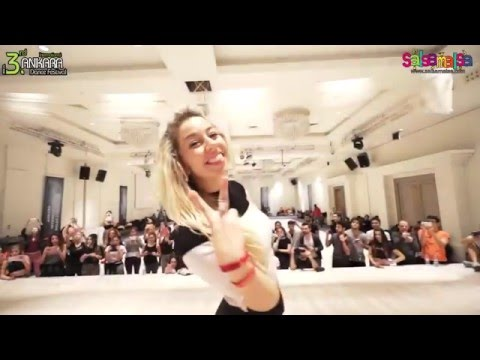 Antonio & Jasmina Dance Workshop Demo-2  | AIDC-2015