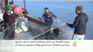 تراجع مهنة صيد الأسماك في شبه جزيرة الفاو