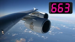 Real-time airplane speed