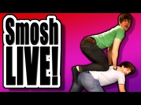 Smosh's Food Battle: THE GAME Live Stream Extravaganza!
