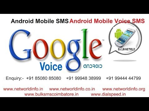 Android Mobile Sms Voice Call Provider Tirunelveli - Net World video