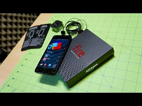 "Amazon Fire Phone Unboxing: ""Hotness"" in the House"