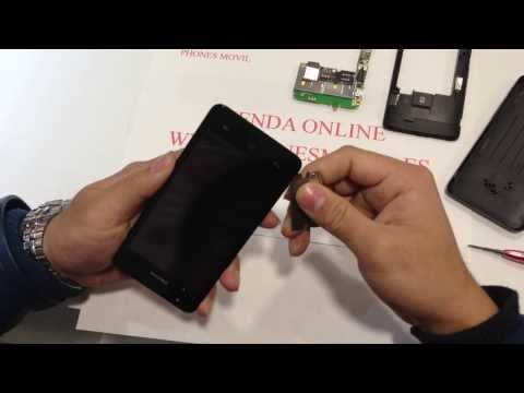 Desmontar Huawei Ascend G510 hasta el cristal