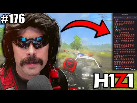 DRDISRESPECT PLAYS H1Z1 WITH 350,000 VIEWERS w/ chat! H1Z1 - Best Oddshots & Funny Moments #176