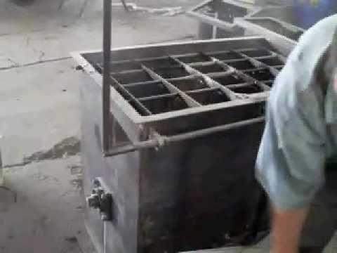 Mezcladora de concreto y revolvedora para blocks cabesa - Cemento para suelo ...