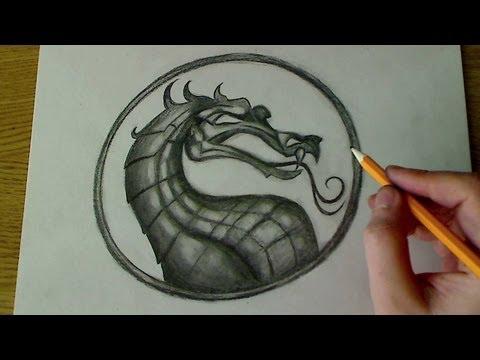 Как рисовать скорпиона с мортал комбат